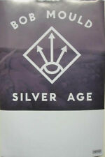 BOB MOULD 2012 SILVER AGE promo poster SUGAR HUSKER DU New Old Stock