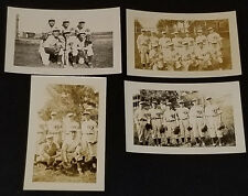 1930/40's - IMMACULATE CONCEPTION COLLEGE - MONTREAL - BASEBALL TEAM - PHOTO (4)