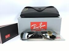 Ray-Ban Aviator RB3025 W3277 Silver Frame Silver Mirror Lens 58mm