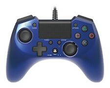 Hori Pad FPS Plus for PS4 PS3 Blue Turbo Rapid Fire Wired Controller Gamepad f