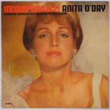 ANITA O'DAY: Incomparable! USA Verve Mono Jazz Female Vocals VINYL LP