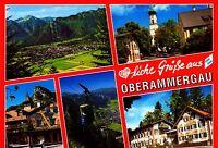 Oberammergau ,Ansichtskarte, gelaufen