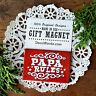 Cute little Gift * PAPA RULES Fridge MAGNET * New in Package Made in USA Admire