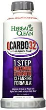 Herbal Clean QCarbo32 Detox Drink Grape Flavor 32 oz