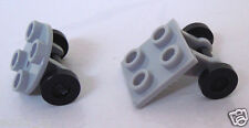 LEGO Part 2655 2415 & 2496 Round & Square 2 x 2 Wheel Holder c/w trolley wheel