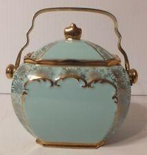 Vintage Sadler Blue Large Cookie Biscuit Barrel Jar