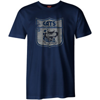 AFL Heritage Retro Tee Shirt - Geelong Cats - Generous Sizes - BNWT