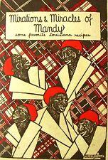 1929 1st MAMMY MANDY BLACK AMERICANA LOUISIANA COOKBOOK CREOLE RECIPES ++