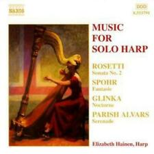 Various Composers : Music for Solo Harp (Hainen) CD (2004)