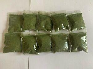 x10 Fine Mixed Blend Turf, Model Green Grass - Woodland Scenics