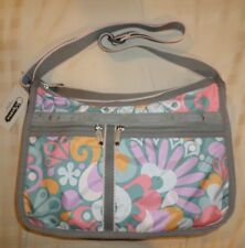 NWT LeSportsac 7507 Deluxe Everyday Bag SWOOP 7507 D087