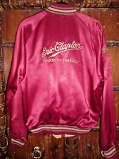 Eric Clapton Watch Out For Lucy Concert Tour Jacket, Medium Embroidered