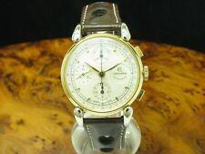 Chronoswiss Klassik Chronograph Edelstahl Automatic Herrenuhr / Ref CH 7543