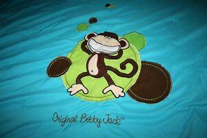 "Comforter Original Bobbie Jack Blue Reversible Bedspread 82"" X 78"" kids bedding"