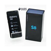 """SMARTPHONE SAMSUNG GALAXY S8 DUOS 64GB BLACK 5,8"""" DUAL SIM G950FD G950F."""