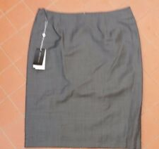 Rhodes and Beckett Grey Wool Suit Business Career Skirt Size 10 NWT