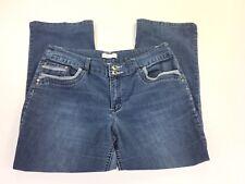 Christopher& Banks Women's Jeans size 14 Short Petite Two Tone Pockets