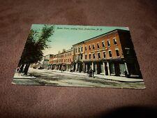 1915 Canadian postcard - Queen street - Fredericton - New Brunswick
