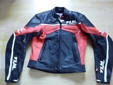 Kurze Motorradjacke aus Leder von Polo FLM für Herren, Gr. 52