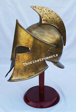 300 MOVIE ARMOR HELMET ANTIQUE BRASS ARMOUR SPARTAN MEDIEVAL