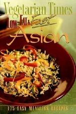 Low-Fat and Fast Asian by Vegetarian Times Magazine Staff (1997, Paperback)