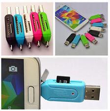 1PCS SD+Micro SD USB OTG Multifunctional Card Reader Micro USB OTG TF/SD Adapter