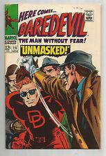 """DAREDEVIL #29: Silver Age Grade 7.5 Classic """"Unmasked""""!!"""