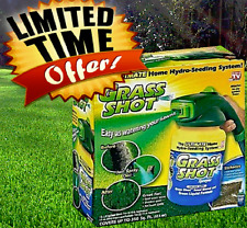 Grass Shot Liquid Spray Lawn Fertilizer Hydro Seeding Mousse Grass Seed Sprayer