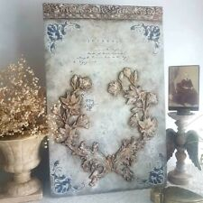 HANDMADE BEAUTIFUL   DECORATIVE PANEL 3D FRENCH STYLE