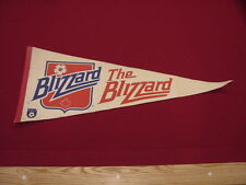 VINTAGE 1970's Toronto Blizzard NASL Soccer 29 Inch Pennant, VERY COOL!!