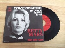 RARE FRENCH SP BETTY MARS COME COMEDIE EUROVISION 1972