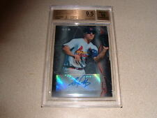 STEPHEN PISCOTTY AUTO,SIGNED 2014 BOWMAN STERLING PROSPECT CARD BGS 9.5 GM MT 10