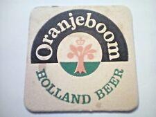 Vintage ORANJEBOOM  HOLLAND BEER  - Cat No'??  Beermat / Coaster