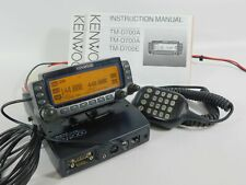 Kenwood TM-D700A FM Dual Band Ham Radio Transceiver w/ Mic + Manual (tested)