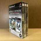 NEW SEALED Medal of Honor Collection (PlayStation 2 / PS2) Rising Sun is open