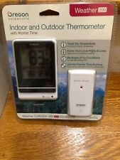 Oregon Scientific Weather 200 Indoor and Outdoor Thermometer BRAND NEW