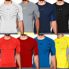 Short Sleeve Fitness Activewear for Men with Compression