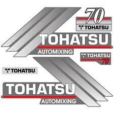 Tohatsu 70 outboard (2004) decal aufkleber adesivo sticker set