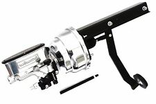 Universal Under Dash Brake Pedal w/ Pol/Chrome Wilwood Master Cylinder & Booster