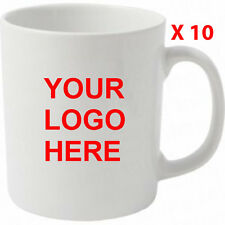 10 Bulk Buy Promotional,Personalised,Business Printed Mug/cup Anytext,logo,image