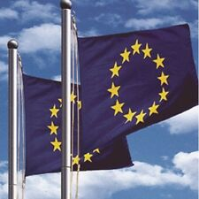NEU!! Fahnenmast Stahl Mast Flagge Seilzug Bodenhülse Flaggenmast