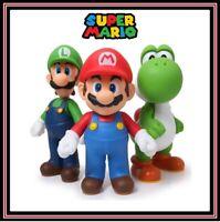 Nintendo Switch Super Mario Bros 12CM Large Figure Luigi Yoshi  Kart Cake Topper