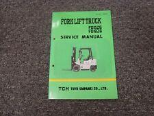 TCM Models FD15Z6 & FD18Z6 Forklift Lift Truck Shop Service Repair Manual
