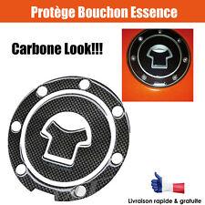 Carbone look moto / Protège bouchon essence Stickers gel Protection décoration