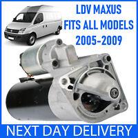 FITS ALL MODELS OF LDV MAXUS 2.5 D DIESEL CRD CDI 2005-2009 NEW STARTER MOTOR