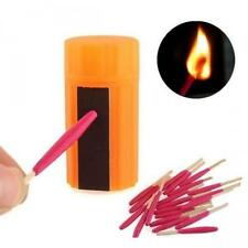 20PCS XCamping Emergency Survival Windproof Stormproof Matches Case Kit Stock