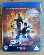 Spy Kids 4: All The Time In The World (Blu-ray 3D) - New/Sealed - Free P&P