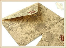Fancy Patterns Quaint Kraft Envelopes for Greeting Cards Wedding Invitation