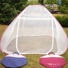 Hot Portable One Touch Netting Mosquito Insect Net Tent Camping Fishing Outdoor
