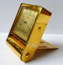 réveil pendulette de voyage JAEGER Swiss pendule clock orologio
